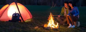 camping banners